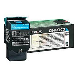C544X1CG Toner Cyan pour imprimante Lexmark C544 C546 X544 X546