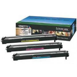12N0772 Tambour 3 Couleur Lexmark pour imprimante Color Optra C910 / C912