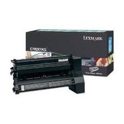 C782X1KG Toner Lexmark Noir pour imprimante C782