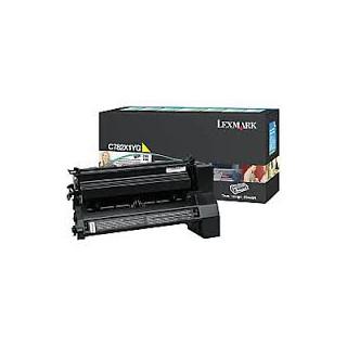 C782X1YG Toner Lexmark Jaune pour imprimante C782