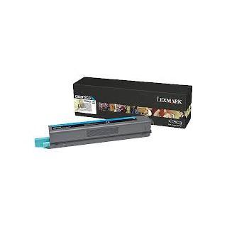C925H2CG Toner Cyan 7,5k pour imprimante Lexmark C925