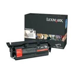 T650H21E Toner Lexmark Noir 25k pour imprimante T650, T652, T655, T656