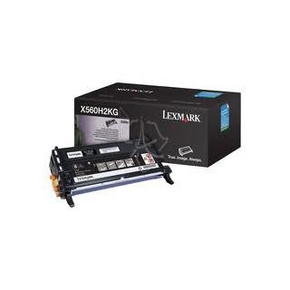 X560H2KG Toner Lexmark Noir 10k pour imprimante x560n, X560dn