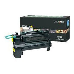 X792X1YG Toner Jaune 20k pour imprimante Lexmark X792, C792