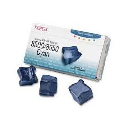 108R00669 Toner Cyan Xerox x 3 pour imprimante Phaser 8500 8550