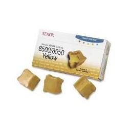 108R00671 Toner Jaune Xerox x 3 pour imprimante Phaser 8500 8550