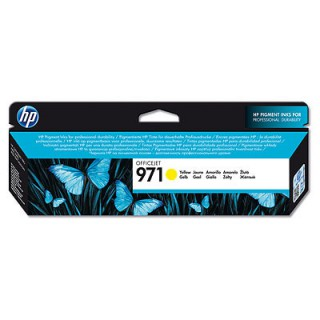 CN624AE  Cartouche d'encre Jaune imprimante HP Color Officejet X476 X576
