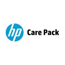 U1XQ3E HP Electronic Care Pack  - Contrat de maintenance 3 ans / J+1