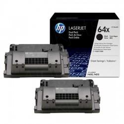 CC364XD Toner Noir imprimante HP Laserjet P4015 ( Lot de 2)