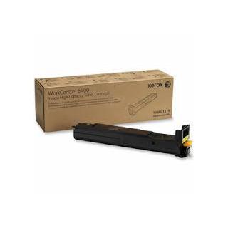 106R01319 Toner Jaune Xerox pour imprimante WorkCentre 6400