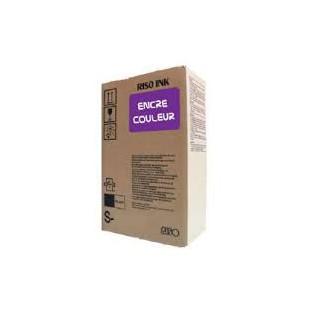Encre Riso (S-4396E) Violet x 2 pour V8000, RP37XX, RP31XX, RP35XX, RN2-Series, GR3770, GR3750, GR-Serie A4, FR-Serie A3
