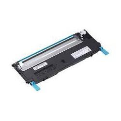 Cartouche de toner Dell 1235cn Cyan LC 1k (J069K) pour imprimante Dell 1235cn
