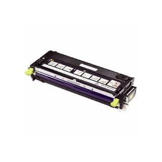 Cartouche de toner Dell 3130cn Jaune LC 3k (593-10295) pour imprimante Dell 3130cn