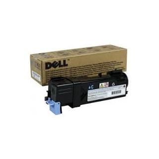 Cartouche de toner Dell 1320c Cyan LC 1k (P238C) pour imprimante Dell 1320C, 2130cn, 2135cn