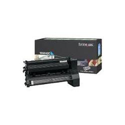15G042C Toner Cyan 15k pour imprimante Lexmark C752 C760 C762 X752 X762