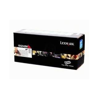 15G042M Toner Magenta Lexmark pour imprimante C752