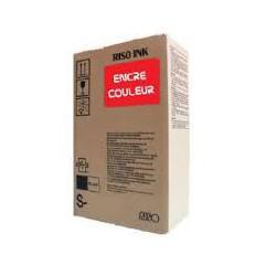 Encre Riso S-7199E Rouge clair 2 x 1000ml pour EZ200, EZ300, EZ370, EZ570, RZ970, RZ977, MZ1070, RZ200, RZ300, RZ370, RZ570