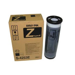 Encre Riso (S-4253E) Noir Z-Type 2 x 1000ml pour RZ200, RZ300, RZ370, RZ570, MZ7xx