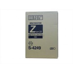 Master Riso (S-4249) B4, Z-Type 33 2 unités pour RZ 230, 300, EZ 230