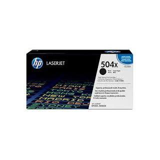CE250X Toner Noir imprimante HP Color Laserjet CM3530 CP3520 et CP3525