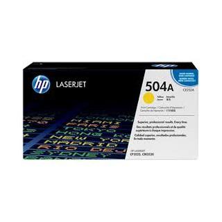 CE252A Toner Jaune imprimante HP Color Laserjet CM3530 CP3520 et CP3525