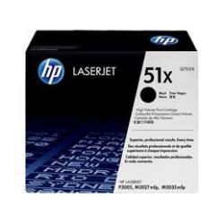 Q7551X Toner Noir imprimante HP Laserjet P3005 Laserjet M3027 Laserjet M3035