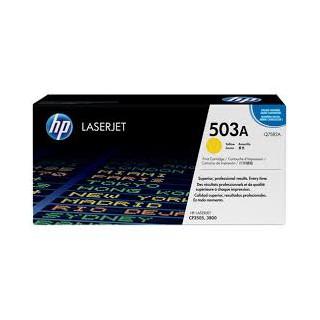 Q7582A Toner Jaune imprimante HP Color Laserjet 3800 CP3505