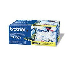 TN-135Y Toner Jaune pour imprimante Brother DCP 9040 HL 4040 HL 4050 MFC 9445 MFC 9840