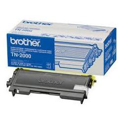 TN-2000 Toner noir pour imprimante Brother Fax 2820/2825/2920 HL 2030/2040/2070 DCP 7010 MFC 7225/7420/7820