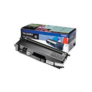 TN 320BK Toner Noir pour imprimante Brother DCP-9055/9270, HL-4140/4150/4570, MFC-9460/9465/9970
