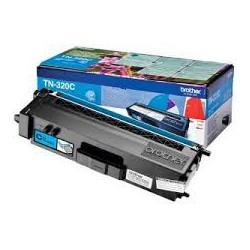 TN 320C Toner Cyan pour imprimante Brother DCP-9055/9270, HL-4140/4150/4570, MFC-9460/9465/9970