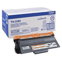 TN 3380 Toner noir pour imprimante Brother DCP-8110/8150/8155/8250, HL-5440/5450/5470/6180, MFC-8510/8520/8710/8910/8950