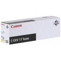 Canon Toner C-EXV 17 Jaune 30 000 pages réf. 0259B002 495g pour imprimante iR C4580i. C4080i. C5185i