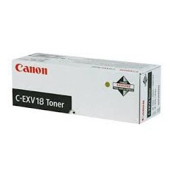 Canon Toner Noir C-EXV 18 8.4 000 pages réf. 0386B002 430g pour imprimante iR 1018. 1022. 1024