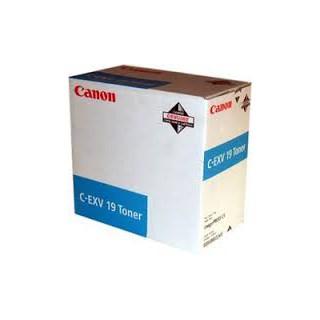 Canon Toner C-EXV 19 Cyan 16 000 pages réf. 0398B002 pour imprimante imagePRESS C1