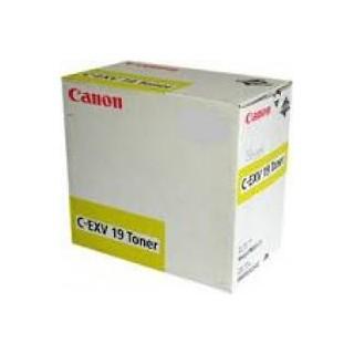 Canon Toner C-EXV 19 Jaune 16 000 pages réf. 0400B002 pour imprimante imagePRESS C1