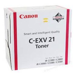 Canon Toner C-EXV 21 Magenta 14 000 pages réf. 0454B002 260g pour imprimante iR C3380. C3380i. C2880. C2380i. C3080. C3580