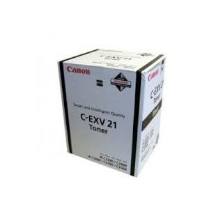 Canon Toner C-EXV 21 Noir 21 000 pages réf. 0452B002 575g pour imprimante iR C3380. C3380i. C2880. C2380i. C3080. C3580