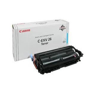 Canon Toner C-EXV 26 Cyan 6 000 pages réf. 1659B006 pour imprimante iR C1021i. C1028i. iF
