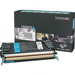 C5220CS Toner Cyan pour imprimante Lexmark C522 C524 C530 C532 C534