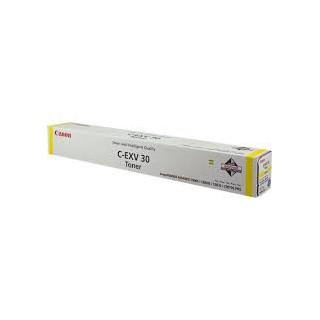Canon Toner C-EXV 30 Jaune 54 000 pages réf. 2803B002 1040g pour imprimante iR ADVANCE C9060PRO. C9070PRO