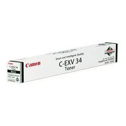 3782B002 - Canon Toner C-EXV 34 Noir pour imprimante iR ADVANCE C2020 C2020i C2030 C2030i C2025i C2220L C2225i