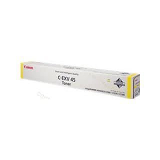 Canon Toner C-EXV 45 Jaune 52 000 pages réf. 6948B002 pour imprimante iR ADVANCE C7260i. 7270i. 7280i