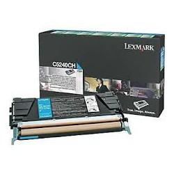 C5240CH Toner Cyan pour imprimante Lexmark C524N C524DN C524DTN