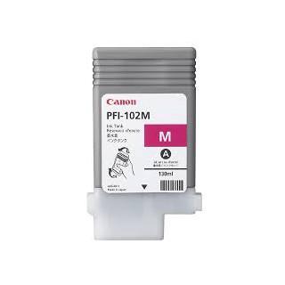 Encre Canon PFI-102 Magenta réf. 0897B001 130ml pour traceur iPF500, LP17, iPF600, iPF605, iPF610, LP24, iPF700, iPF710, iPF720