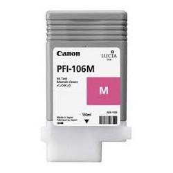 Encre Canon PFI-106 Magenta réf. 6623B001 130ml pour traceur iPF6300, 6350, 6400, 6450