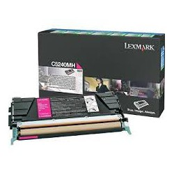C5240MH Toner Magenta pour imprimante Lexmark C524N C524DN C524DTN