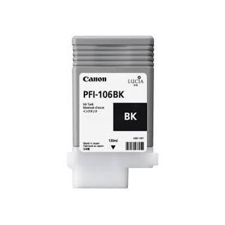Encre Canon PFI-106 Noir réf. 6621B001 130ml pour traceur iPF6300, 6350, 6400, 6450