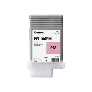 Encre Canon PFI-106 Photo Magentaréf. 6626B001 130ml pour traceur iPF6300, 6350, 6400, 6450
