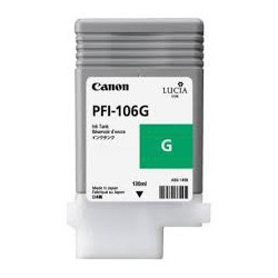 Encre Canon PFI-106 Vert réf. 6628B001 130ml pour traceur iPF6300, 6350, 6400, 6450
